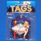 *BRAND NEW* LAS VEGAS LUGGAGE & ID TAG SOUVENIR I DID THE STRIP *FACTORY SEALED*