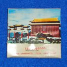 BEAUTIFUL VINTAGE GRAND HOTEL IN TAIWAN MATCHBOOK CHINESE HOTEL COLLECTOR'S ITEM