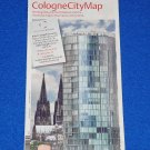 *BRAND NEW* COLOGNE CITY BROCHURE REFERENCE MAP KVB RAIL SERVICE MAP RHINE RIVER
