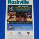 BRAND NEW FANTASTIC 2016-2017 IN AND AROUND NASHVILLE CITY MAP- GREAT REFERENCE