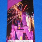 """WALT DISNEY"" MAGIC KINGDOM BROCHURE THEME PARK GUIDE MAP CINDERELLA'S CASTLE"
