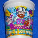 SUPER SUNDAY SUPERBOWL FOOTBALL CHEERLEADER BACCHUS NEW ORLEANS MARDI GRAS CUP