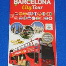 *NEW* BARCELONA SPAIN CITY TOUR HOP ON HOP OFF SIGHTSEEING GRAYLINE MAP BROCHURE