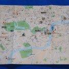 LONDON ENGLAND CITY GLOBUS SOUVENIR MAP HYDE PARK WESTMINISTER PARLIAMENT