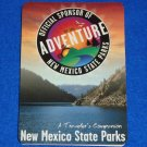 **BRAND NEW** NEW MEXICO STATE PARK MAPS BROCHURE - *HANDY TRAVELER'S REFERENCE*