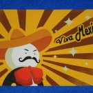 BRAND NEW DYNAMIC VIVA MEXICO POSTCARD KEEPSAKE MARIACHI SOMBRERO MEXICAN FLAG