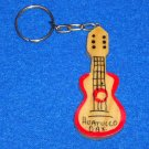 *BRAND NEW* ADOARABLE MEXICO GUITAR KEYCHAIN HUATULCO OAXACA COLLECTOR'S ITEM