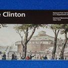 BRAND NEW CASTLE CLINTON NATIONAL HISTORICAL SITE PARK BROCHURE 1ST IMMIGRATION