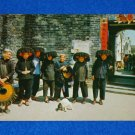 *BRAND NEW* ANGELIC HONG KONG POSTCARD VILLAGE WOMEN OUTSIDE KATHING WALLED CITY