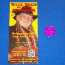 WILLIE NELSON & FRIENDS MUSEUM FLYER COUNTRY MUSIC SINGER GRAND OLE OPRY + BONUS