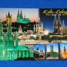 **BRAND NEW** EXTRAORDINARY UNUSED COLOGNE GERMANY CATHEDRALS AND MORE POSTCARD
