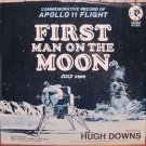 First Man On the Moon 45 Record  Apollo 11 Hugh Downs NM NASA