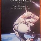 SPACE EXPLORATION 1999 CHRISTIE'S AUCTION CATALOG VG