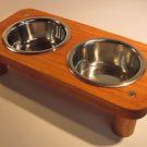 2 bowl pet feeding station