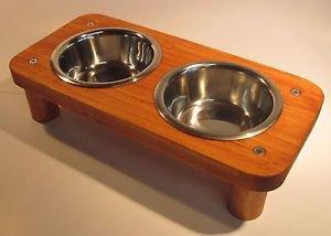 2 bowl pet feeding station