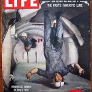 Life Magazine April 13, 1959 : Cover - Weightless in a C-131 B plane.