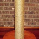 CAT SCRATCHING POST WITH YOUR CATS NAME - 24 inch X 4 1/2inch