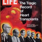 Life Magazine September 17, 1971 : Cover - Six recipients of heart transplants