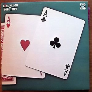 Earl Klugh And Bob James -BEST OFFER Two Of A Kind LP Capitol 512244 NM/EX Jazz
