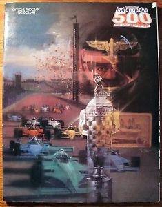 Vintage 1988 INDIANAPOLIS 500 Official Program Auto Racing Indy Gasoline Alley