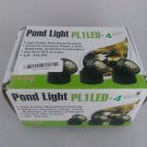 Jebao PL1LED-4  Submersible Pond LED Light with Colored Lense