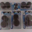Shepherd Hardware 9226 1-1/2-Inch Rubber Leg Tips, 5- Pack