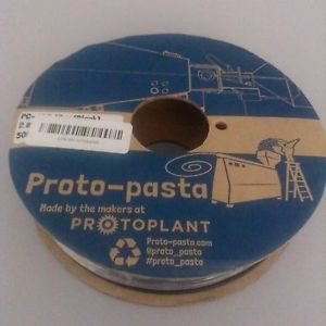 Proto-pasta PCA12805-BLK Polycarbonate-ABS Alloy Spool, 2.85 mm, 500 g , Black