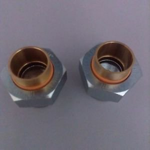 2 PlumBest D06075R Zinc Plated 3/4-Inch FIP by 3/4-Inch Copper Sweat
