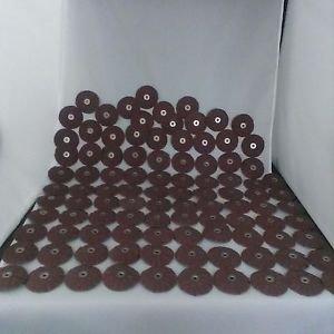 Arc Abrasives 34034 Spin-On Overlap Discs, 180 Grit, 2-1/2-Inch , 100-Pack