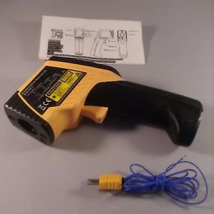 Thomas Traceable Infrared Dual Lasers Thermometer, with Type-K Probe, IR range