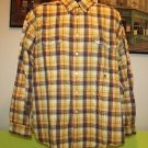TOMMY HILFIGER MEN'S LONG SLEEVE DRESS SHIRT PLAID XXL 100% COTTON
