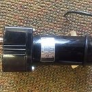 BODINE ELECTRIC COMPANY GEAR MOTOR 90/130 VOLTS 33A7BEPM-F2 51/72 LB-IN TORQ