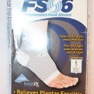 NEW ORTHOSLEEVE FS06 COMPRESSION FOOT SLEEVE RELIEVES PLANTAR FASCIITIS PAIN