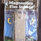 NEW SE MAGNESIUM FIRE STARTER WITH COMPASS FS374