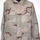 US ARMY DESERT CAMO BLOUSE SHIRT WITH PATCH M/R MEDIUM REGULAR