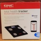 GNC TOTAL TRACKER DIGITAL BODY ANALYSIS SCALE-WEIGHT,BODY FAT,BMI,MUSCLE & BONE