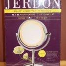NEW JERDON HL745CO 5X MAGNIFICATION 2 SIDED HALO LIGHT XTRA OUTLET ON BASE