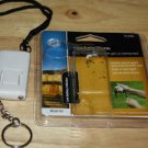 NEW GENERAL ELECTRIC PERSONAL SECURITY KEYCHAIN ALARM WHITE FREE SHIPPING