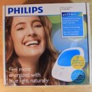 NEW PHILIPS GOLITE BLU LIGHT THERAPY, UV FREE RECHARGEABLE BATTERY ENERGY LIGHT