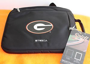 "NEW GEORGIA BULLDOGS PADDED SLEEVE FOR IPAD OR ANY 10"" TABLET BLACK"
