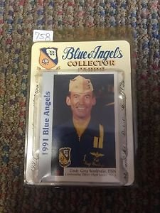 BLUE ANGELS COLLECTOR CARD SET 1991 PREMIER LIMITEID EDITION 45TH ANNIVERSARY
