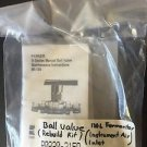 PARKER BALL VALVE KIT 802065-2 06XG B-SERIES MANUAL MATIENANCE 130L FERMENTOR