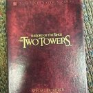 THE LORD OF THE RINGS THE TWO TOWERS NEW LINE PLATINUM  SPECIAL EDITION DVD SET