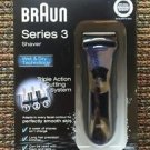 AS-IS BRAUN SERIES 3 HAIR SHAVER WET & DRY TECHNOLOGY PERFECT SMOOTH SKIN 340S