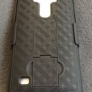 NEW NAGEBEE LG G4 SLIM WITH KICKSTAND AND HOLSTER PATTERNED BLACK