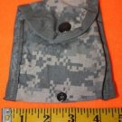 US ARMY USAF ACU DIGIAL CAMO AND OD GREEN TACTICAL MOLLE POUCH 5X5 INCHES 2 PACK