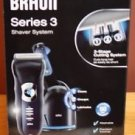 BRAUN SERIES 3 SHAVER 350-CC SHAVER SYSTEM  W/3 STAGE CUTTING SYSTEM