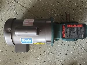BALDOR SINGLE PHASE INDUSTRIAL MOTOR KL1203 .25 HP LOW/HIGH VOLTAGE VOLTS