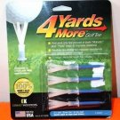 NEW GREENKEEPERS 4 YARDS MORE GOLF TEE 3 1/4 INCH DRIVER TEE BLUE