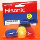 NEW HISONIC LPWS5P HEADSET/LAVALIER MICROPHONE WINDSCREEN 5 PACK